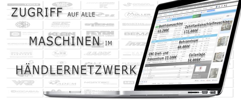 Maschinenverwaltung - Zugriff im Händlernetzwerk mit Modul MWS