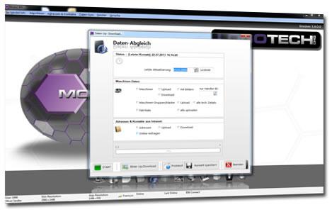 Bild Modul MWS Maschinenverwaltung